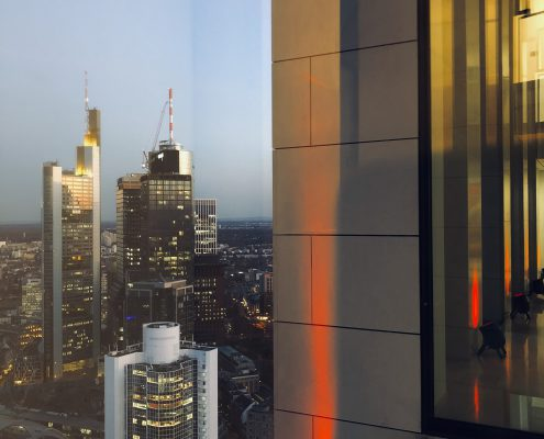 Foto Bürogebäude Skyline