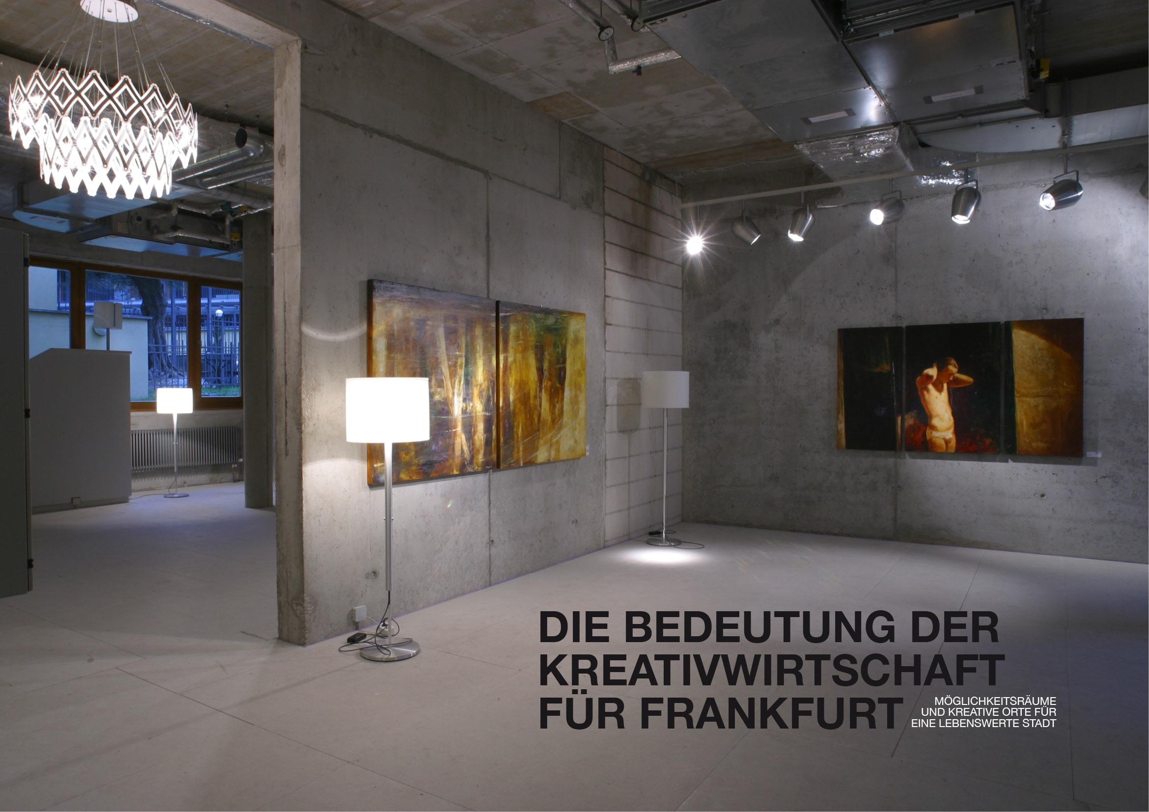 Broschüre Bedeutung der Kreativwirtschaft für Frankfurt