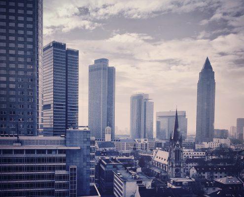 Bürogebäude Skyline