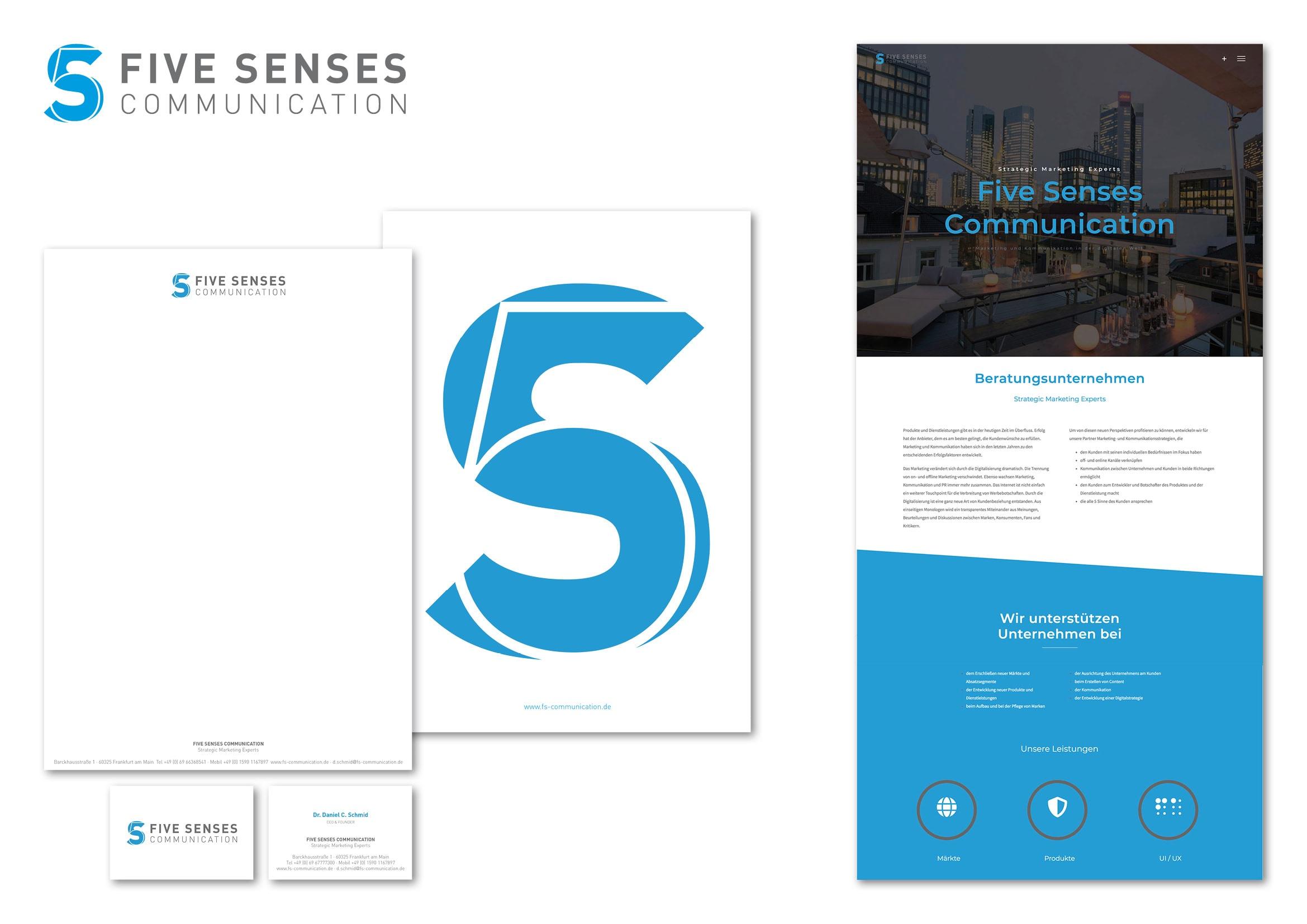 Corporate Design und Homepage Entwicklung für Beratungsunternehmen durch Grafik-Designer Ronald Wissler