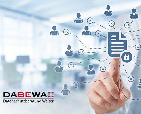 Corporate Design und Webdesign Entwicklung für DABEWA, Datenschutzberatung Bernd Walter aus Karlsruhe durch Webdesigner Ronald