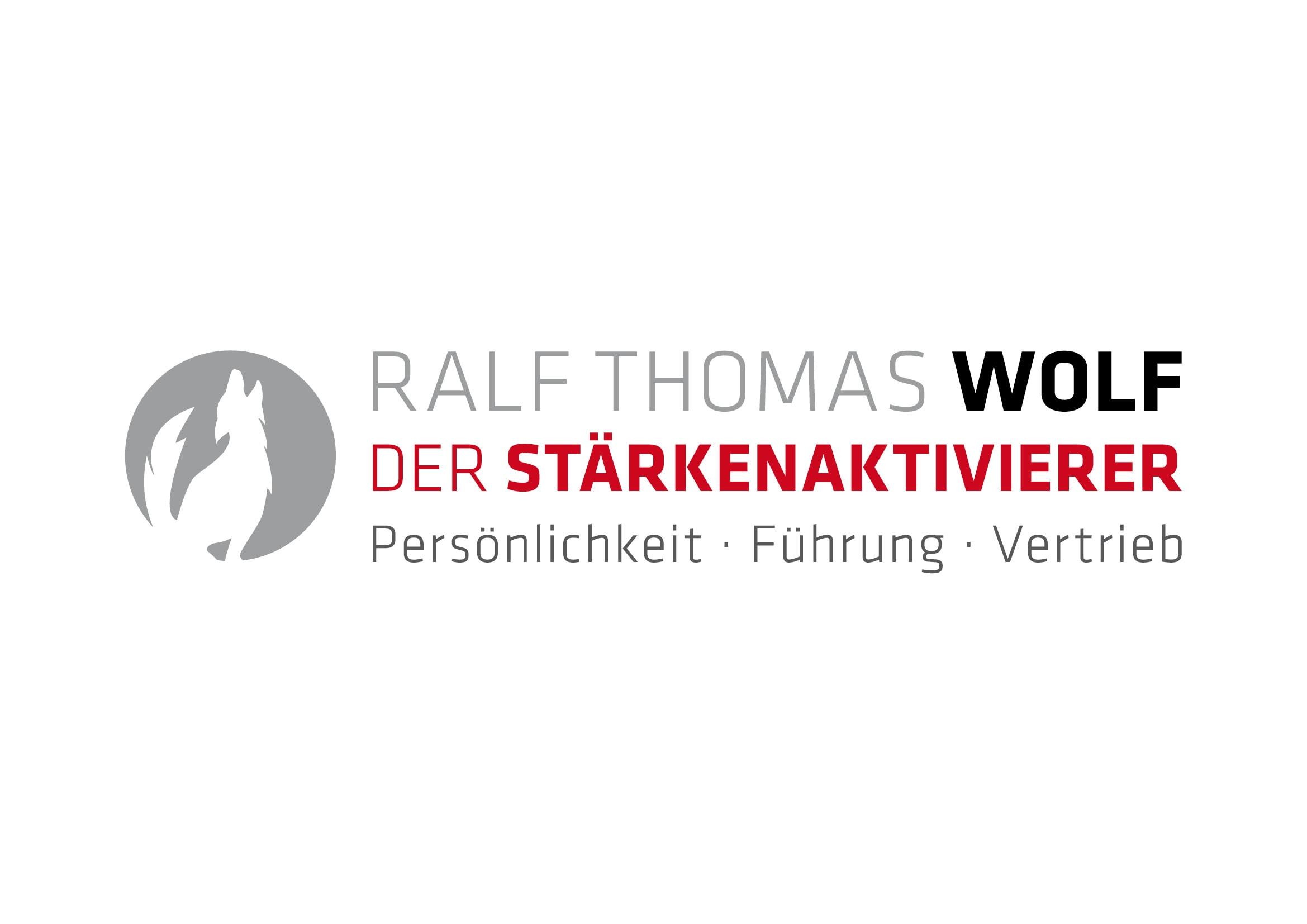 """Logo Entwicklung und Programmierung der Homepage """"Der Stärkenaktivierer"""" für Trainer und Coach Ralf Thomas Wolf durch Grafik-Designer Ronald Wissler"""