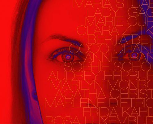 Plakatgesattlung zum Weltfrauentag: Besondere Frauen