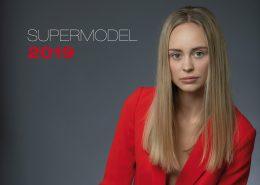 Einladungs-Flyer für Supermodel Contest 2019 in Wiesbaden