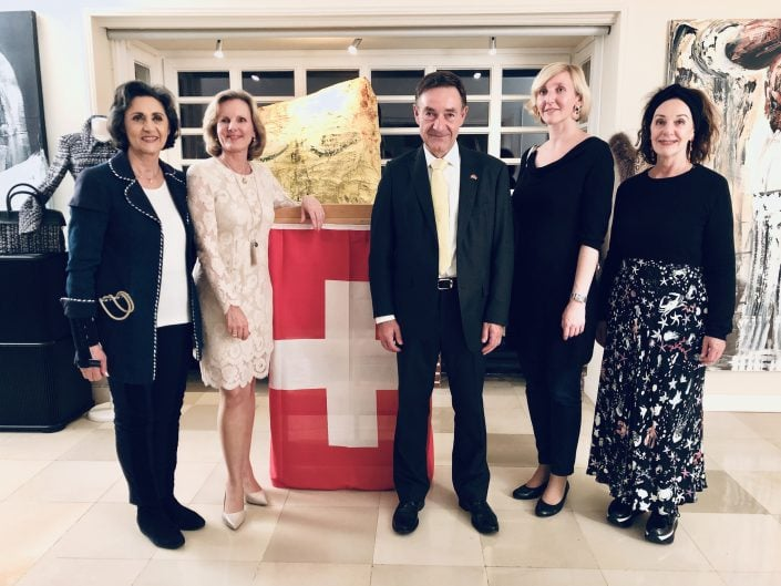 Event Cocktail der Kreativwirtschaft in der Residenz des Schweizerischen Gerneralkonsuls