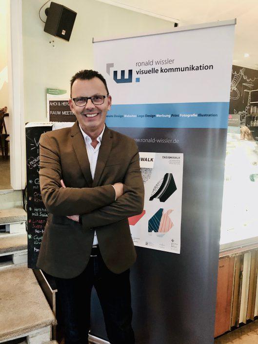 Ronald Wissler Visuelle Kommunikation nimmt am Design Walk 2019 teil