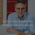 Webdesign Entwicklung für Anwaltskanzlei Heizmann durch Ronald Wissler Visuelle Kommunikation