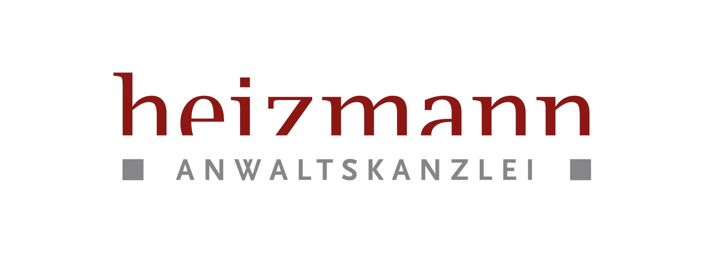 Corporate Design und Logo Entwicklung für Anwaltskanzlei Heizmann durch Grafik-Designer Ronald Wissler