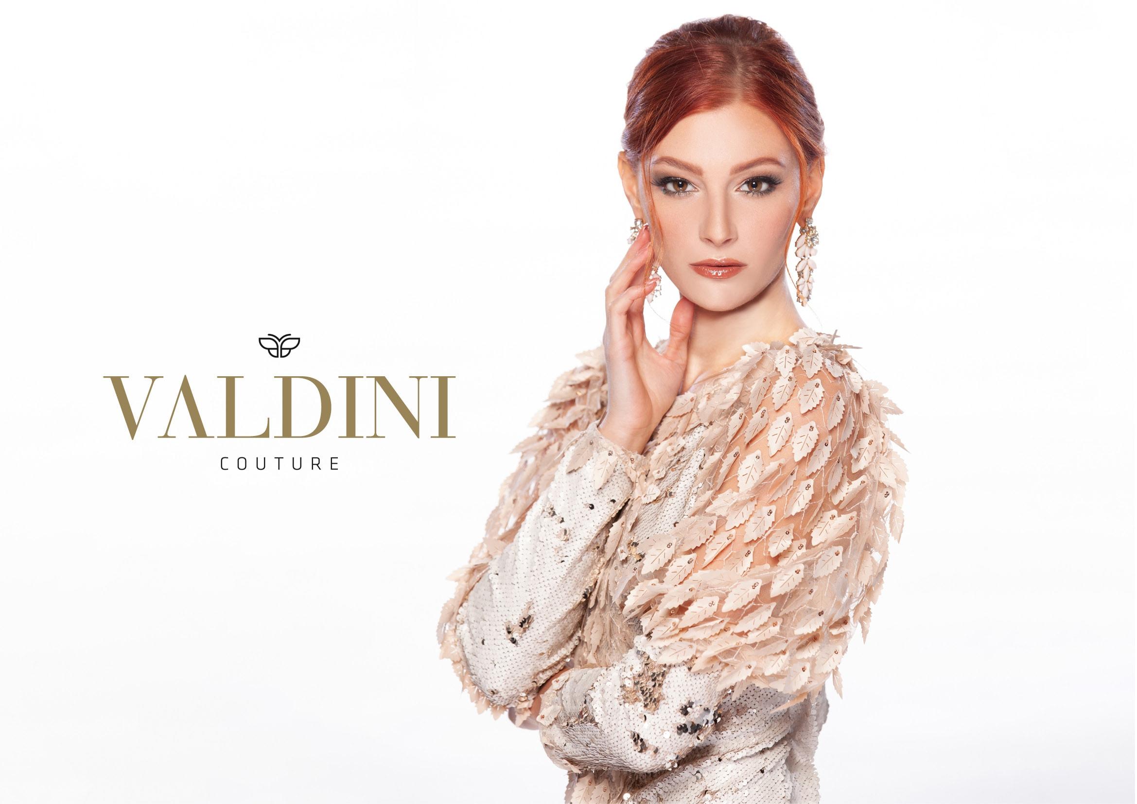 Corporate Design und Logo-Entwicklung für Valdini Couture durch Ronald Wissler