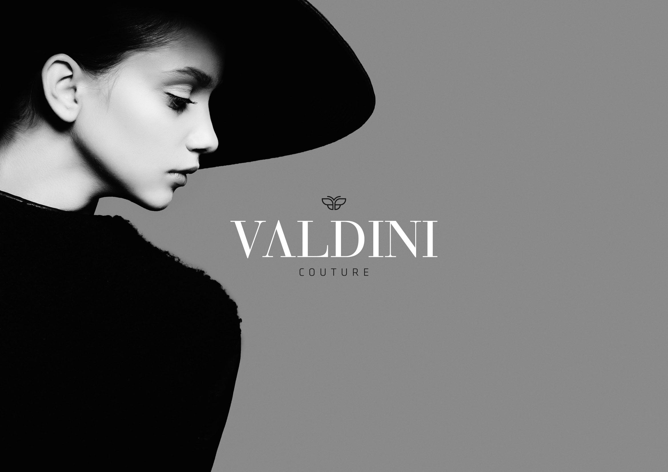 Corporate Design und Logoentwicklung für Valdini Couture durch Ronald Wissler Visuelle Kommunikation