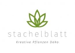 Logoentwicklung für nachhaltige und kreative Pflanzen Dekoration