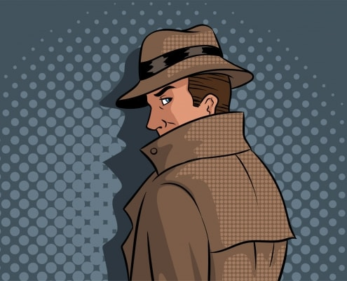 Homepage Entwicklung für Detektei
