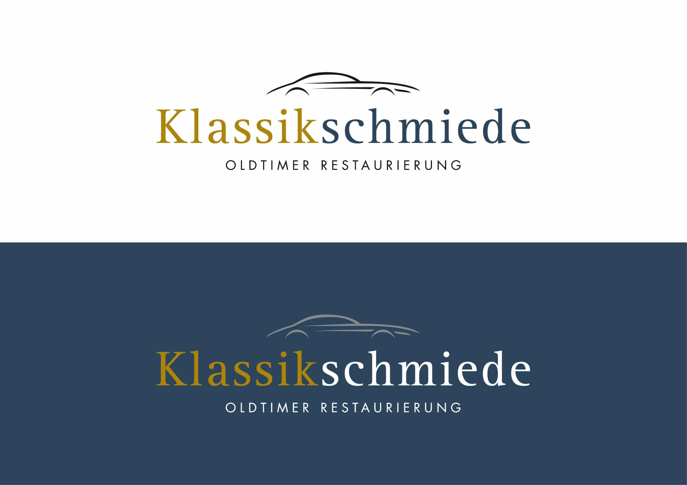 Corporate Design Entwicklung für Oldtimer Manufaktur durch Grafik-Designer Ronald Wissler Frankfurt