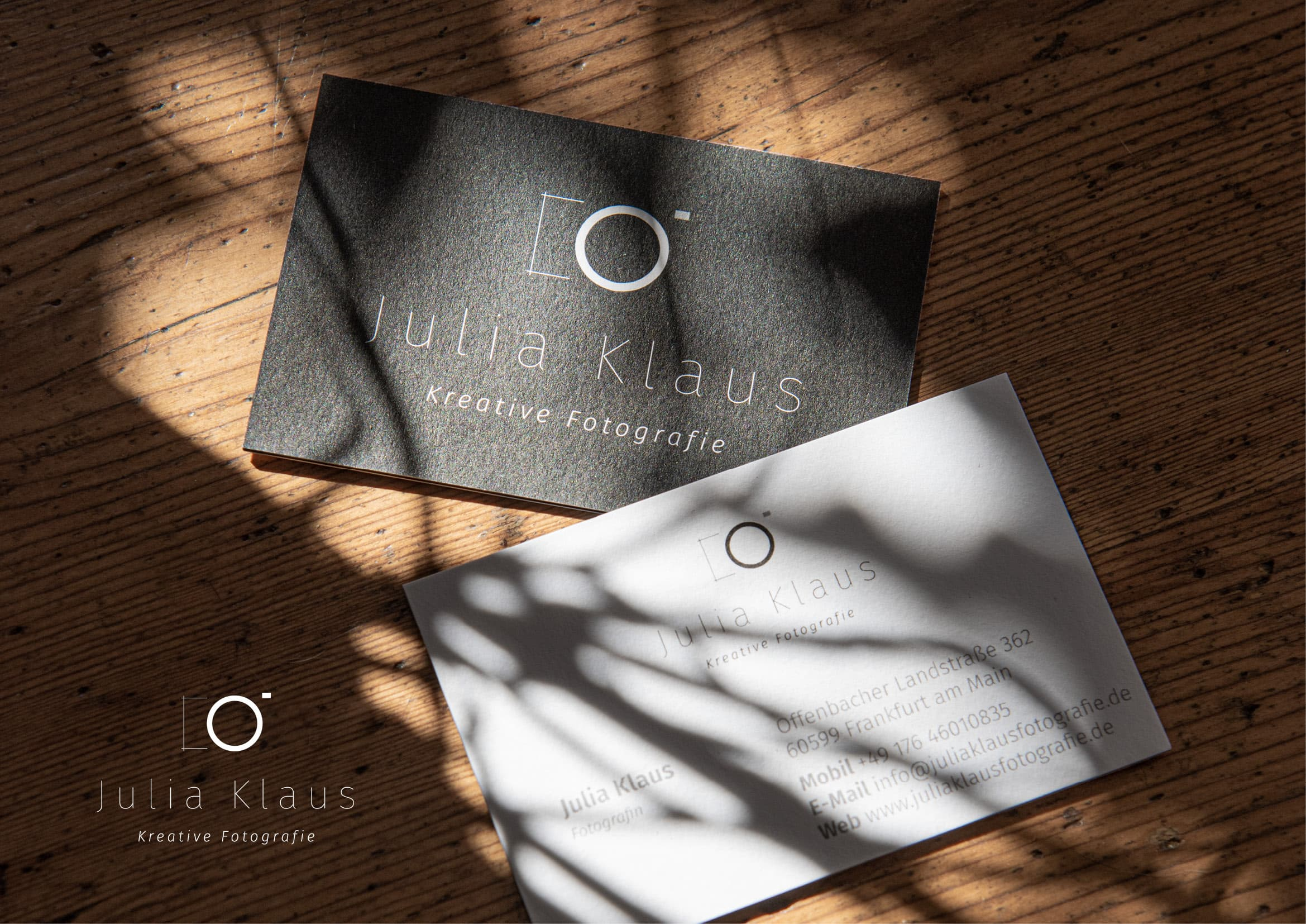 Corporate Design und Logo Entwicklung für Fotografen durch Grafik-Designer Ronald Wissler