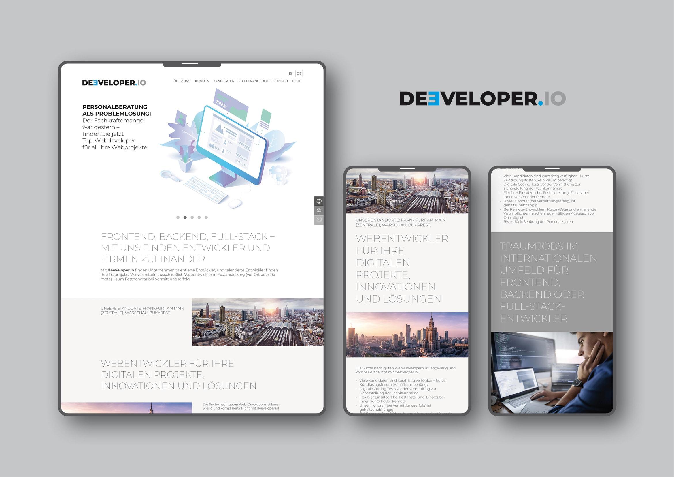 Homepage Entwicklung durch Webdesigner Ronald Wissler
