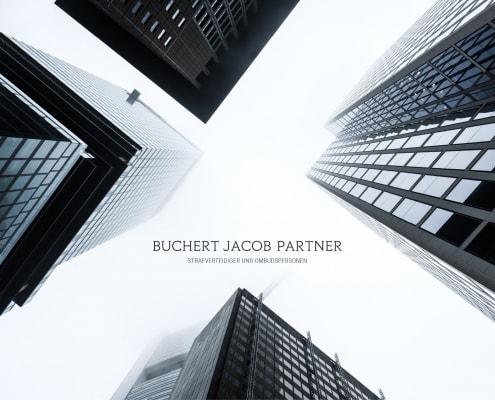 Designleistungen für die renomierte Anwaltskanzlei Buchert Jacob & Partner