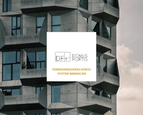 Webdesign und Programmierung der Internetseite für das Immobilien Unternehmen Domus Fortis durch Ronald Wissler Visuelle Kommunikation